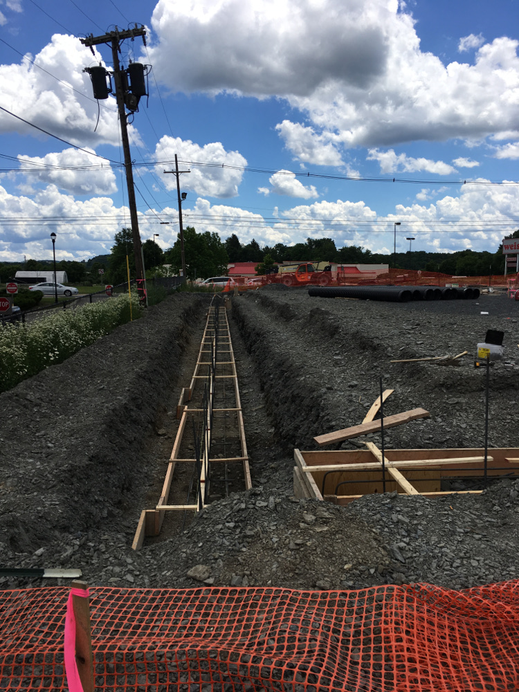 Trenches, Rebar, etc